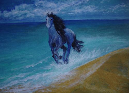 Цели на 2014 год   синяя лошадь дарит уверенность!